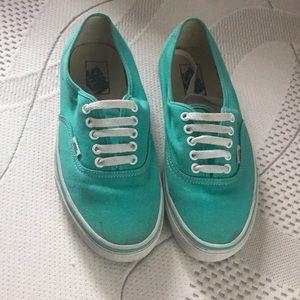 Vans Shoes - Turquoise Vans